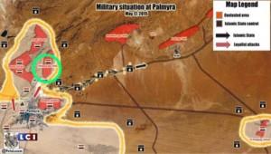 Syrie : l'armée reconquiert la ville de Palmyre