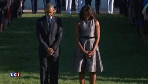 Attaques du 11-Septembre : Barack et Michelle Obama observent une minute de silence