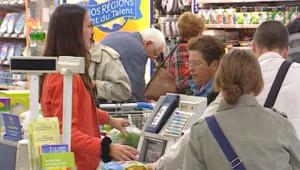 caisse supermarché magasin