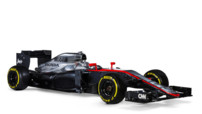 La MP4-30, nouvelle monoplace de McLaren-Honda qui participera à la saison 2015 de Formule 1 avec à son bord l'Espagnol Fernando Alonso et le Britannique Jenson Button.