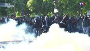 Paris : nouveaux affrontements entre policiers et casseurs