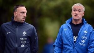 Franck Ribéry et Didier Deschamps