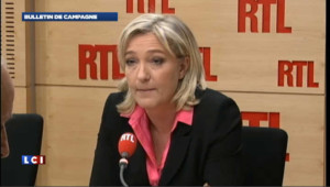 Le Pen vise une trop forte immigration
