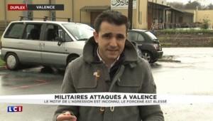 """Militaires attaqués à Valence : """"L'homme arrêté ne possédait pas de fiche S"""""""