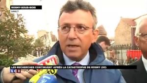 """Catastrophe de Rosny-sous-Bois: """"Les personnes en bonne santé ont été prises en charge par la mairie"""" selon le préfet"""