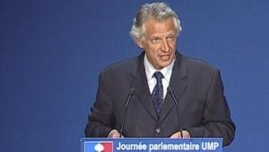 Dominique de Villepin face aux députés UMP - TF1/LCI