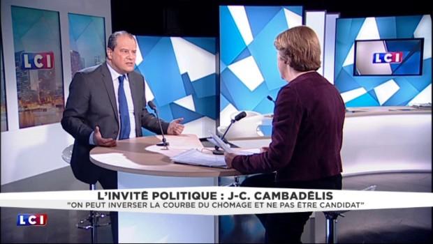 """Jean-Christophe Cambadélis : """"La primaire a du plomb dans l'aile"""""""