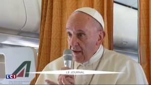 """JMJ : Le pape François appelle les Polonais à accueillir """"ceux qui fuient la guerre et la faim"""""""