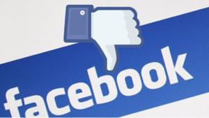 """Le bouton """"Je n'aime pas"""" sur lequel Facebook serait en train de travailler."""
