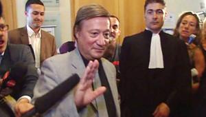 Le docteur Maure lors de son procès (13 juin 2008)