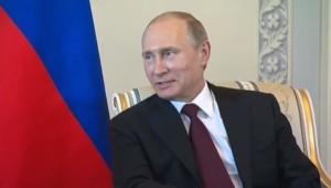 Vladimir Poutine, le 16/3/2015
