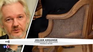 """Assange sur Hollande : """"Il a eu l'air d'avoir été très faible, victime de l'espionnage américain"""""""