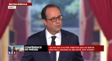 "Hollande : ""Ce n'est pas maintenant que la question (de la candidature) doit se poser"""