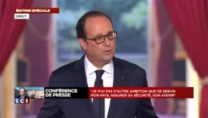 """Hollande : """"Ce n'est pas maintenant que la question (de la candidature) doit se poser"""""""