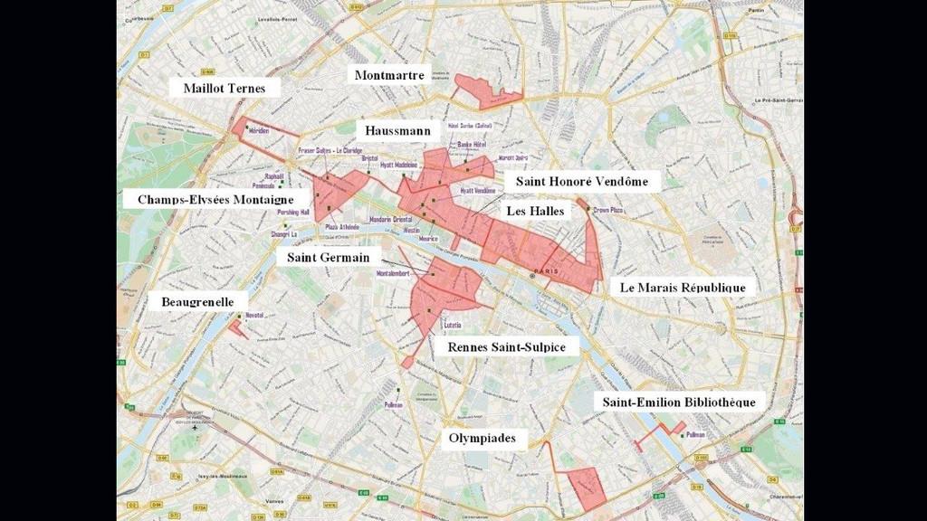 Ouverture le dimanche les cartes des zones touristiques for Arrondissement porte d italie