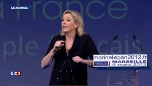 Le Pen moque la «cure de rajeunissement » offerte par Sarkozy