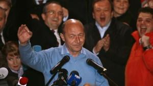Le président roumain Traian Basescu (6 décembre 2009)