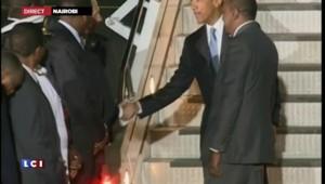 Obama au Kenya : les images de son arrivée