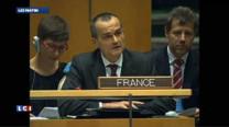 """""""La France a voté en faveur de la solution de deux Etats, de deux Etats pour deux peuples, Israël et la Palestine vivant côte à côte en paix et en sécurité à l'intérieur de frontières sûres et internationalement reconnues"""", a déclaré Gérard Araud, ambassadeur de France aux Nations Unies, jeudi soir."""