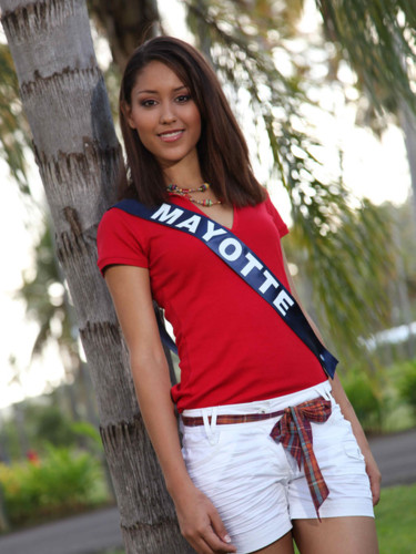 Miss Mayotte 2009 - Anridhoini Elodie : candidate Miss France 2010