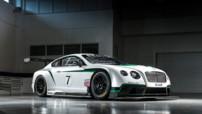 Bentley Continental GT3, voiture de compétition au V8 600 ch engagée à partir de 2014