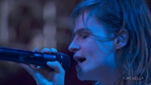Christine and the Queens à Coachella