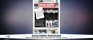 """Corse: le FLNC du 22 octobre menace les """"islamistes radicaux"""" de """"réponse déterminée"""" en cas d'attaque"""
