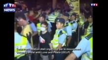 Des manifestants démocrates arrêtés à HongKong