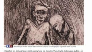 Libération d'Auschwitz : ces dessinateurs, témoins si particuliers de la Shoah