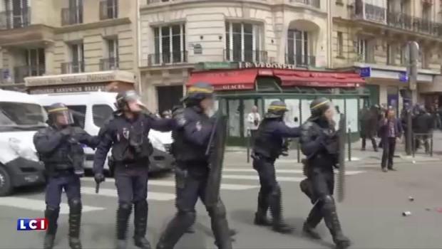 Loi Travail : plus d'une trentaine de blessés dans les manifestations à Paris
