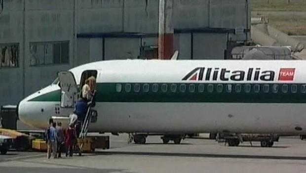Un avion d'Alitalia