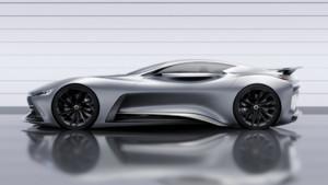 Des formes dynamiques, un look agressif et un V8 4,5 l combiné à un bloc électrique : voici le dernier concept Vision GT d'Infiniti pour le jeu vidéo Gran Turismo 6.