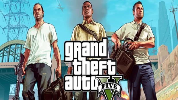 Grand Theft Auto 5. Un jeu créé par Rockstar Games.