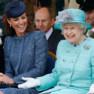 Kate Middleton et Elizabeth II pendant le jubilé de la reine