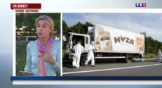 Le 20 heures du 27 août 2015 : Les questions s'accumulent après la découverte de corps de dizaines de migrants - 227