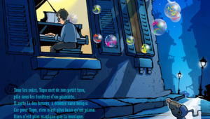 Le piano de Topo, une histoire poétique, musicale et interactive pour les plus jeunes