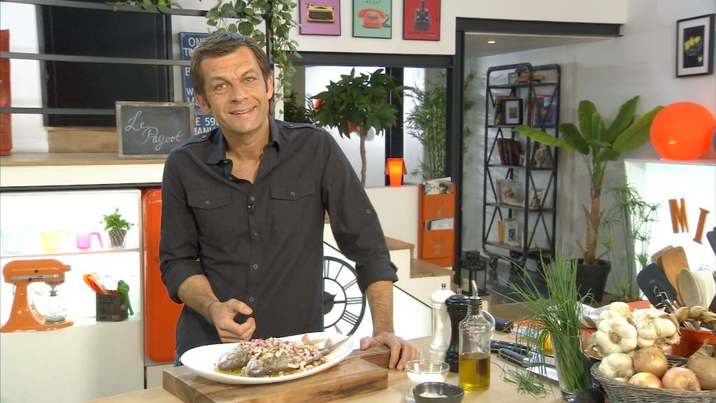 Pageot grill sauce vierge petits plats en equilibre mytf1 - Mytf1 petit plat en equilibre ...