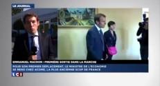 Première sortie officielle pour Emmanuel Macron dans la Manche