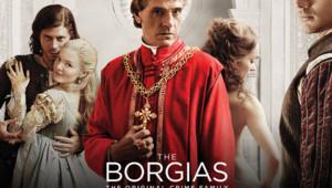 The Borgias est une série créée en 2010, avec Jeremy Irons, François Arnaud, Holliday Grainger...