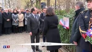 Attentats de janvier : les trois plaques inaugurées en mémoire des victimes