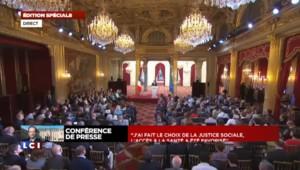 """Hollande martèle : """"J'ai fait le choix..."""""""