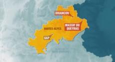 La carte du Massif du Queyras.