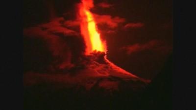 Le volcan Villarrica au Chili.