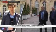 """Loi Travail : """"Le grand rendez-vous du jour est avec Pierre Gataz, président du Medef"""""""