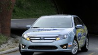Photo 3 : Ford Fusion Hybride : 2 325 kilomtres avec un plein