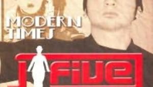 Visuel du CD de J-Five Modern times