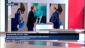 """Baylet : """"Le PS doit se ressaisir"""""""