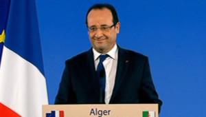 François Hollande donne une conférence de presse à Alger, 19/12/12