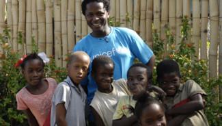 Ishmael Beah, enfant-soldat, Sierra Leone.