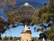 Le télescope de l'observatoire de Parkes (Australie)